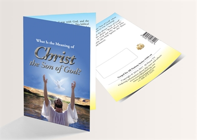 What Is the Meaning of Christ the Son of God? (English Version) - 250 Copies