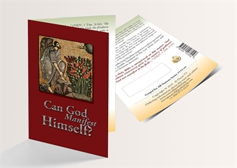 Can God Manifest Himself? (English Version) - 250 Copies