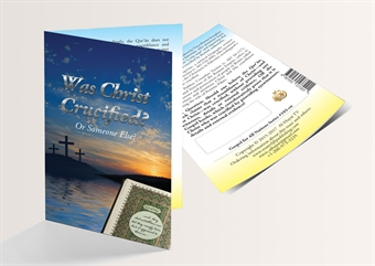 Was Christ Crucified? Or Someone Else? (English Version) - 250 Copies